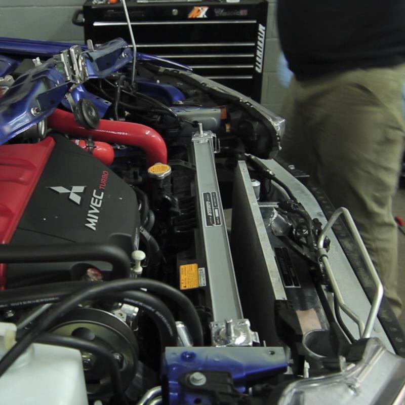 Mishimoto Performance Aluminum Radiator – Evo X